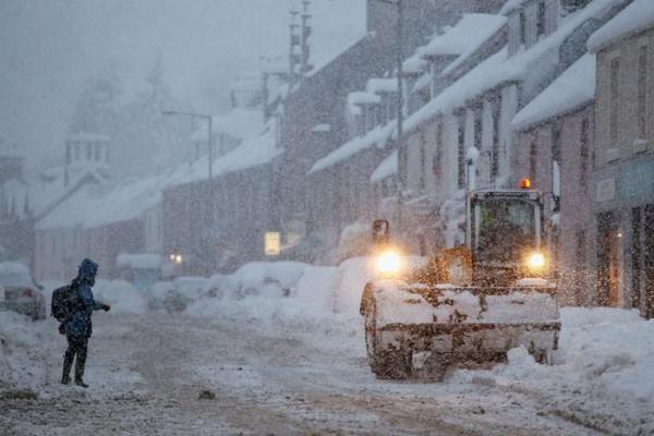 Готов ли Киев к снегопадам?