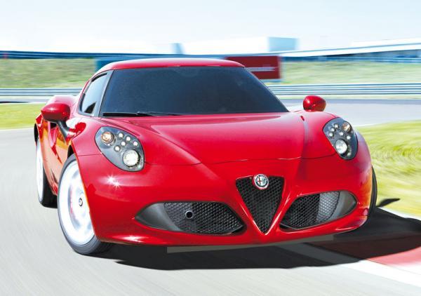 Alfa Romeo 4C: современная классика
