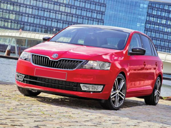 Skoda Rapid Spaceback: практичность – прежде всего