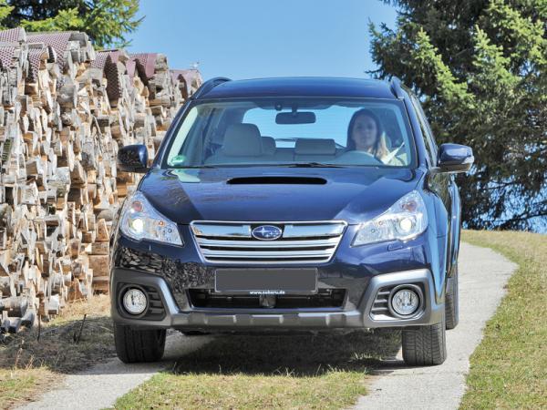 Subaru Outback: модернизация
