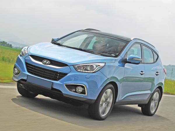 Hyundai ix35: освежение