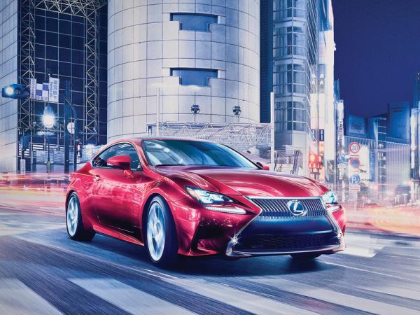 Lexus RC: спортивный собрат седана IS