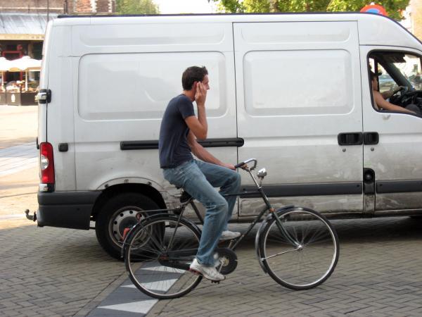 Водительские права для велосипедистов!