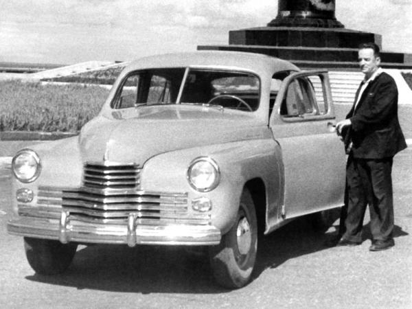 """ГАЗ-М-20 """"Победа"""": первопроходец"""