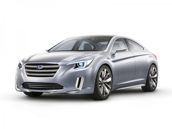 Subaru Legacy Concept: в преддверии нового седана