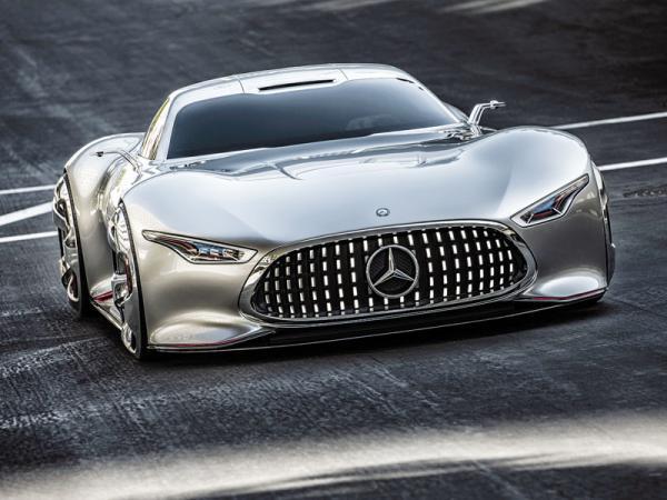 Mercedes-Benz Vision Gran Turismo: купе для компьютерной игры