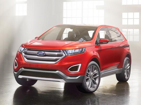 Ford Edge Concept: выход на мировой уровень