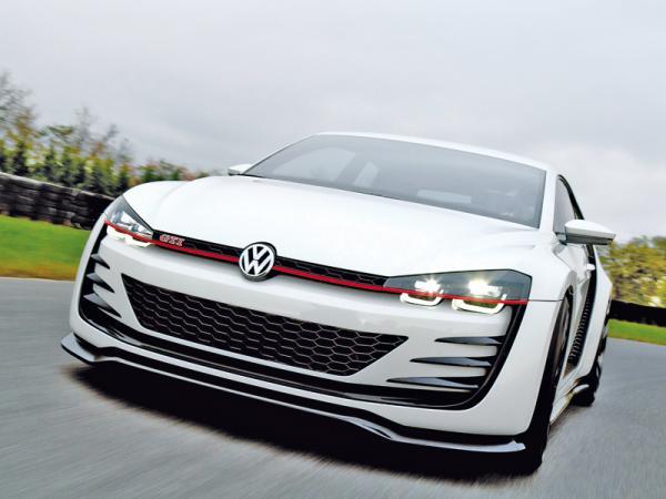 """Volkswagen Design Vision GTI: дорожный """"снаряд"""""""