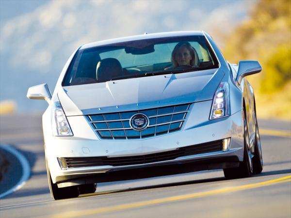 Cadillac ELR: роскошный собрат Volt