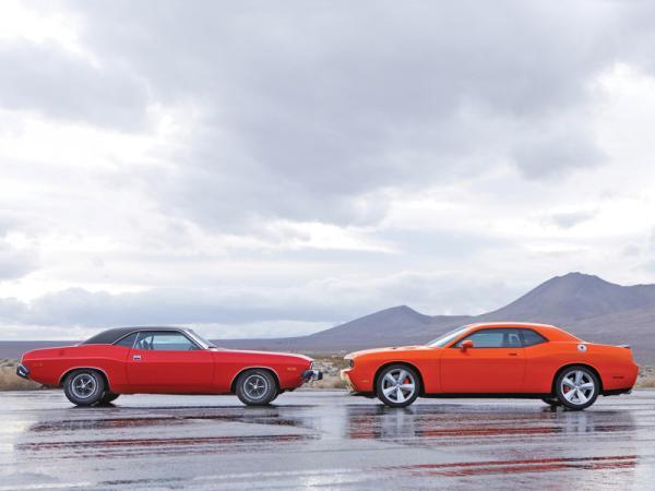 Dodge Challenger: мощность – во главе всего