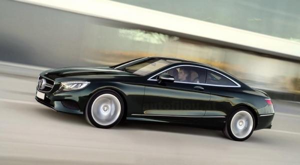 Mercedes-Benz S-Class Coupe представят в Женеве
