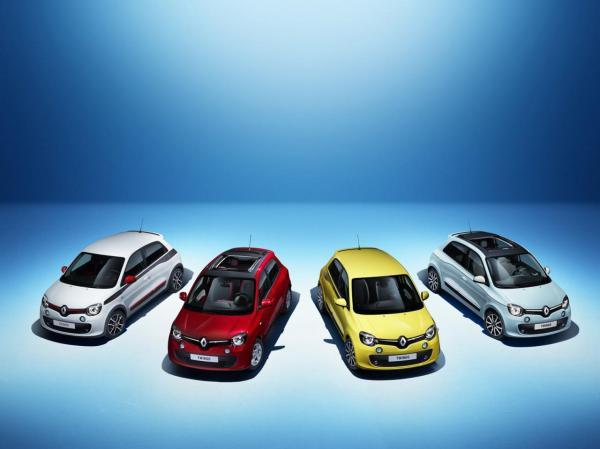 Первые изображения Renault Twingo
