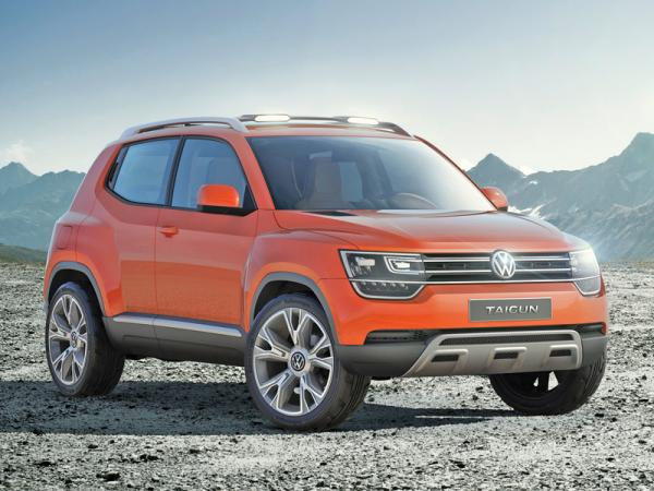 Volkswagen Taigun: почти серийный