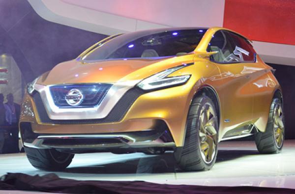 Nissan показал новое поколение кроссовера Murano