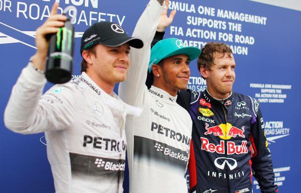 Победный дубль Mercedes в Малайзии