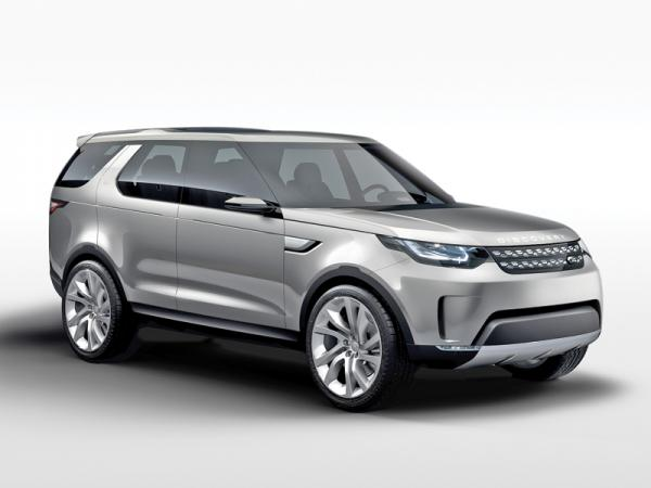 Land Rover Discovery Vision: взгляд в будущее