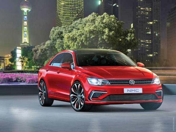 Новый Volkswagen Midsize Coupe