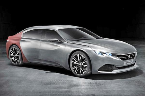 Peugeot представит новую модель Exalt