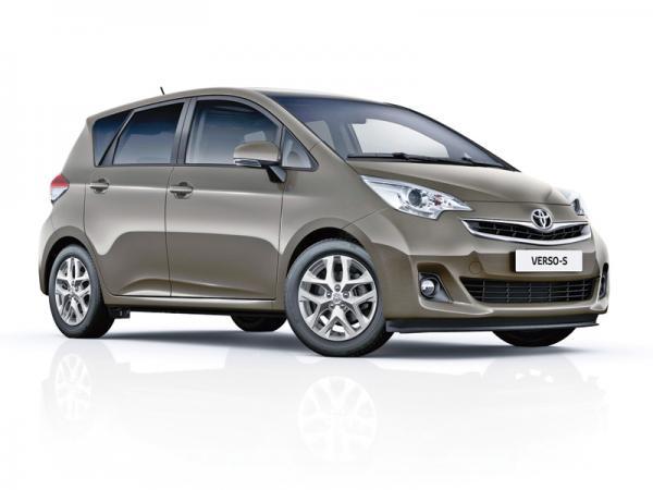 Toyota Verso-S: легкое освежение