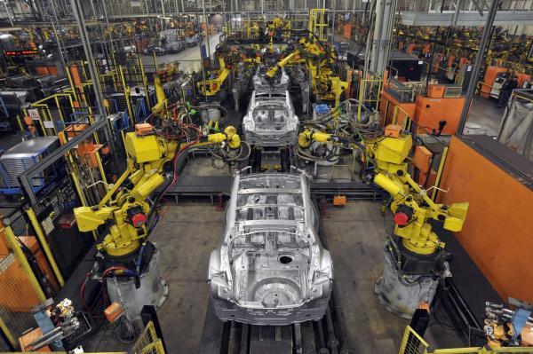 Производство автомобилей в Украине выросло вдвое