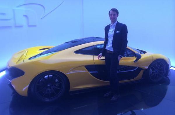 Украинец стал стилистом McLaren