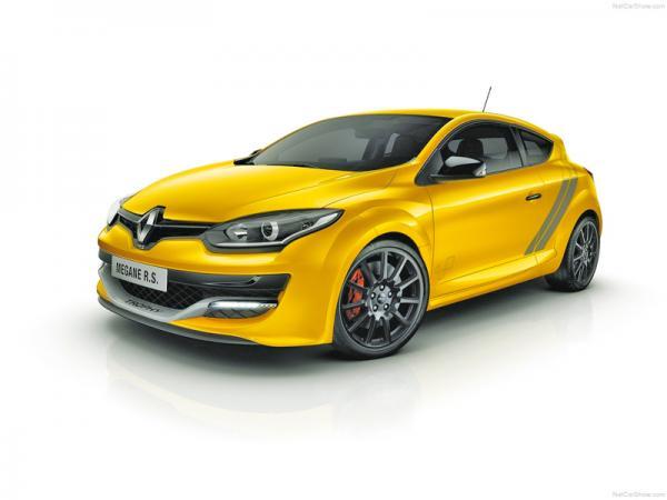 Renault Megane RS 275 Trophy: обновление с прибавкой в мощности