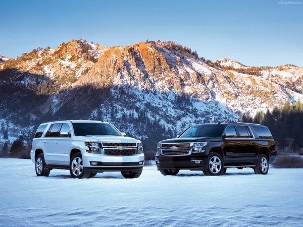 Chevrolet Suburban: новый гигант