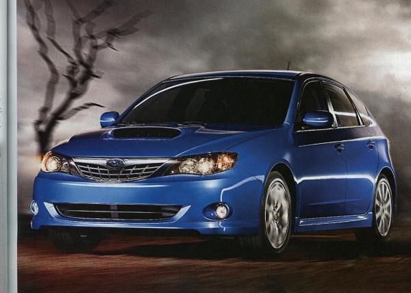 Детали о новой Subaru Impreza