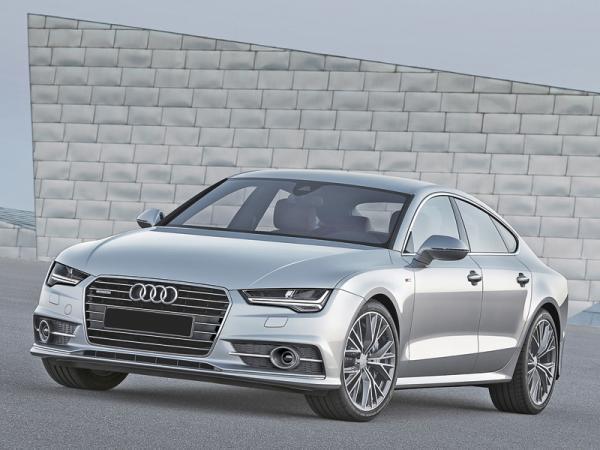 Audi A7 Sportback: легкая модернизация