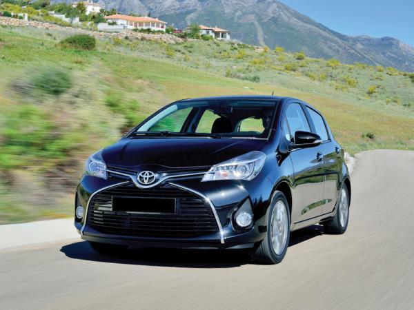 Toyota Yaris: модернизация