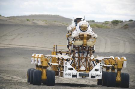Тест-драйв лунного автопарка