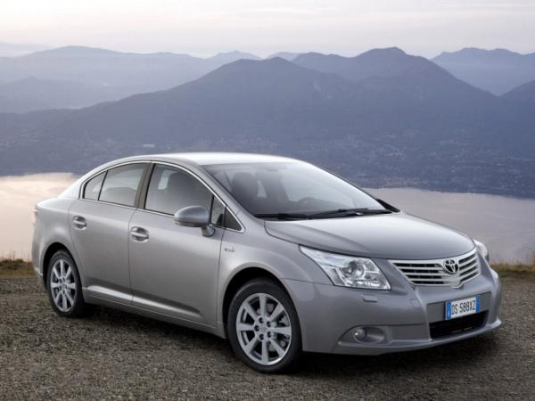 Toyota Avensis уходит с рынка