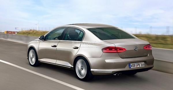 Новый Volkswagen Passat VIII