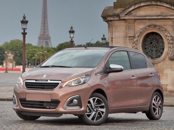 Peugeot 108: ставка на индивидуальность