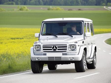Mercedes-Benz G 55 AMG: обновленный и модернизированный