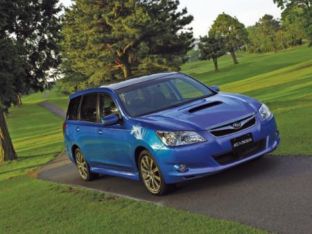 Subaru Exiga: универсал для семерых