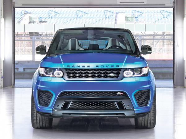 """Range Rover Sport SVR: самый быстрый в """"семействе"""""""
