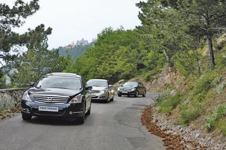 Новая Nissan Teana: приятное знакомство на Крымском побережье