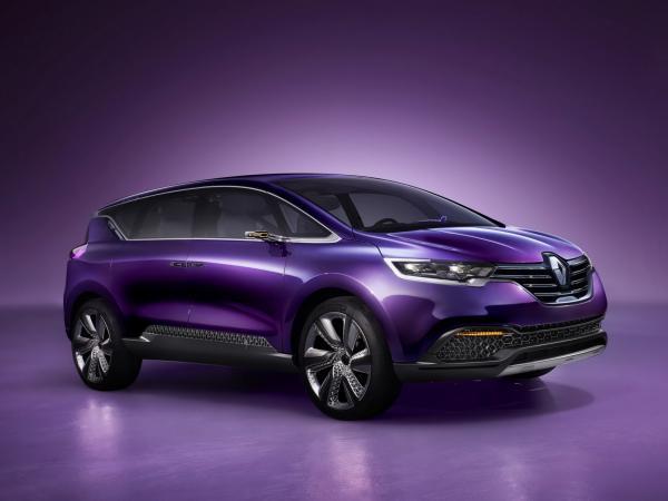 Renault Espace представят в Париже