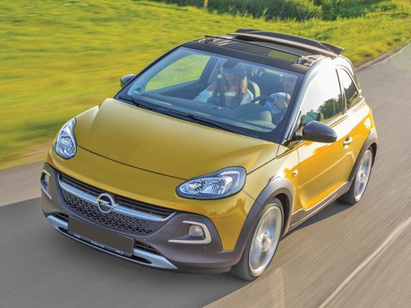 Opel Adam Rocks Air: не такой, как все