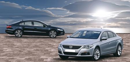Volkswagen Passat CC: комфортное купе