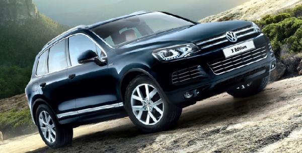 Обновленный Volkswagen Touareg будет с новым двигателем