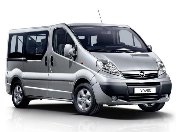 Opel представит новую версию Vivaro Combi
