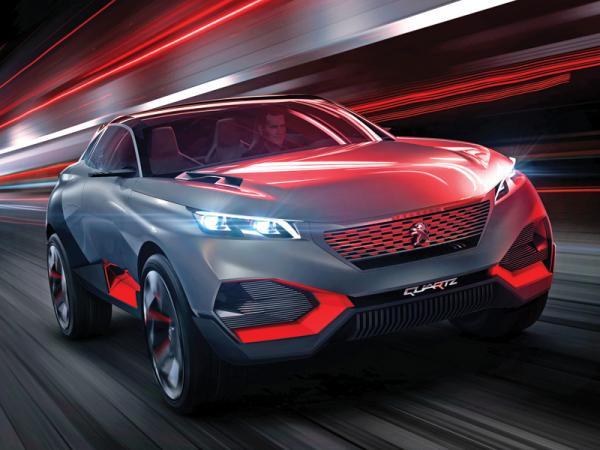 Peugeot Quartz: предвестник нового вседорожника