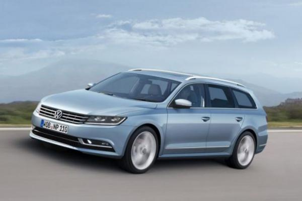 На рынок выходит Volkswagen Passat нового поколения