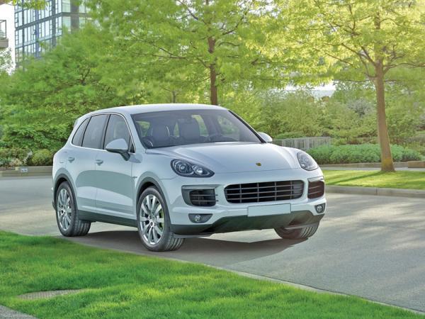 """Porsche Cayenne: вседорожный """"спортсмен"""""""