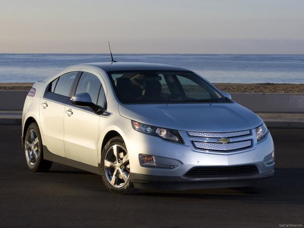 Chevrolet тестирует новое поколение Volt