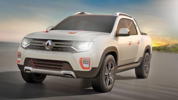 Renault Duster Oroch: пикап для любителей кайтсерфинга