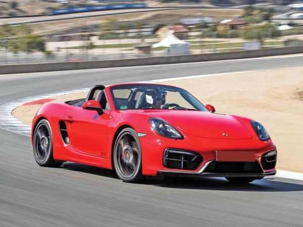 Porsche Boxster GTS: мощнее, быстрее, острее