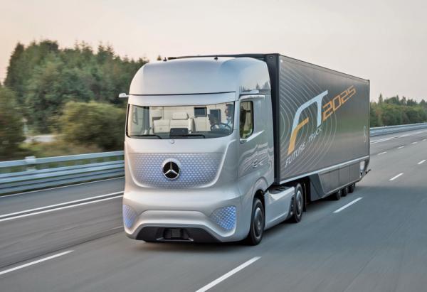 Mercedes-Benz Future Truck 2025: грузовик будущего